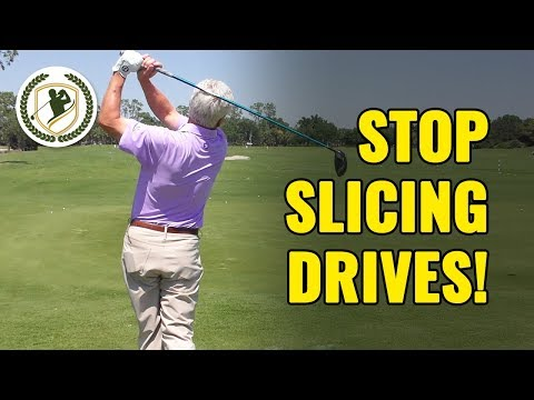 HOW TO STOP SLICING YOUR DRIVER GOLF SWING – 4 CRUCIAL TIPS!