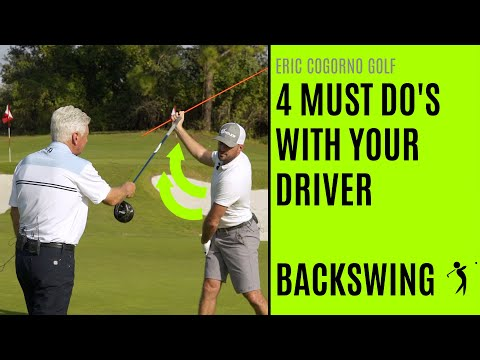 GOLF: 4 MUST DO'S With Your Driver – Backswing (With Scratch Golf Academy)