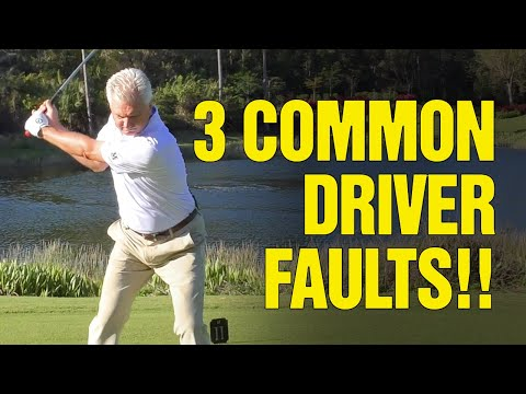 [GOLF DRIVER] 3 Common Setup Faults With Your Driver!