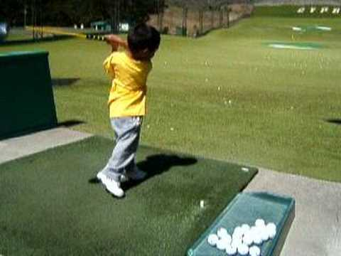 3 year old golf prodigy…baby tiger woods