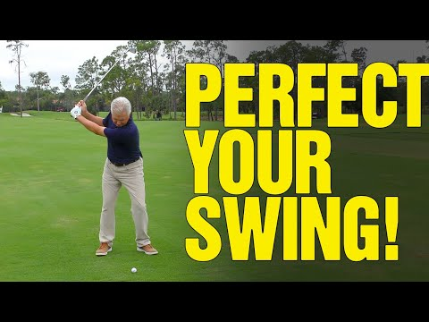 [PERFECT SWING] How To HIT MORE Consistent Golf Shots!!