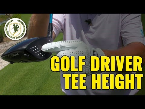 How High Should You Tee a Golf Driver? (IT MATTERS!)