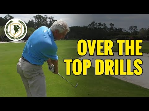 GOLF SWING PLANE DRILLS – HOW TO STOP COMING OVER THE TOP