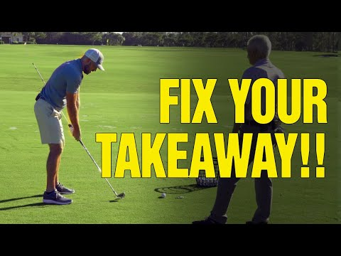 [Video: 1 of 2] Two Simple Golf Drills To IMMEDIATELY FIX Your Takeaway (With Eric Cogorno Golf)