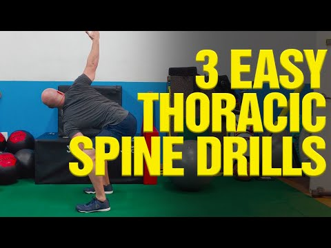 GOLF FITNESS:  3 Easy Thoracic Spine Mobility Drills [TRY THIS!]