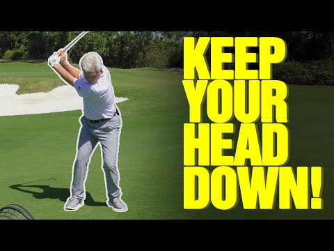 Golf Drills To Keep Your Head Down [DO THIS NOW!]