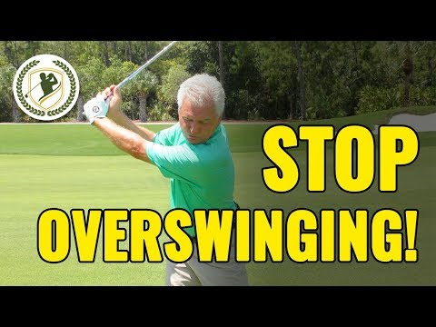 Golf Drills To Stop Overswinging (PERFECT BACKSWING!)