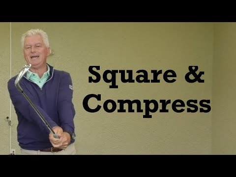 Square the Clubface & Compress the Ball – Golf Insights – IMPACT SNAP