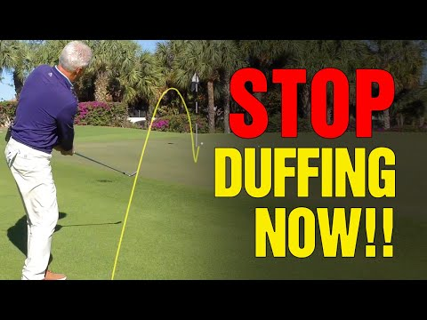 GOLF: How To STOP Duffing Around The Greens [STOP THIS NOW!!]