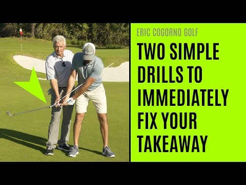 GOLF: [Video 2 of 2] Two Simple Drills To Immediately Fix Your Takeaway (With Scratch Golf Academy)