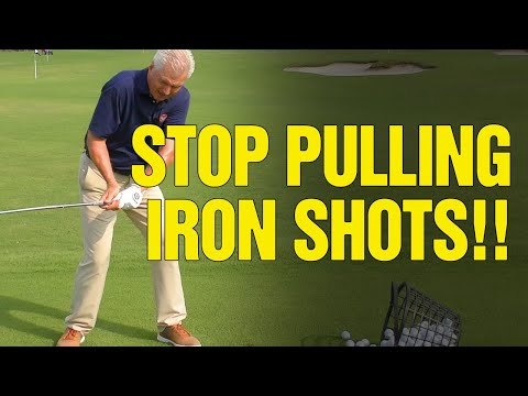How To Fix Your Golf Swing Plane [STOP PULLING IRON SHOTS!!]