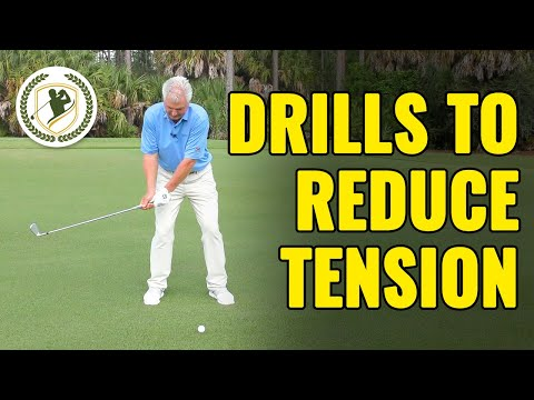 3 Golf Drills To Reduce Tension (NEW DRILLS!)
