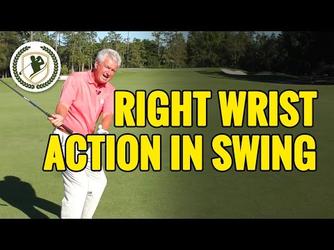 RIGHT WRIST ACTION IN THE GOLF SWING