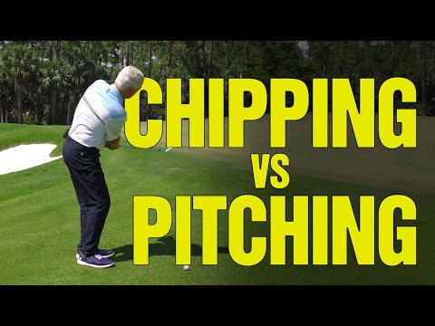 Golf Chipping vs Pitching Drills – [3 KEY DIFFERENCES] to Improve Your Game!