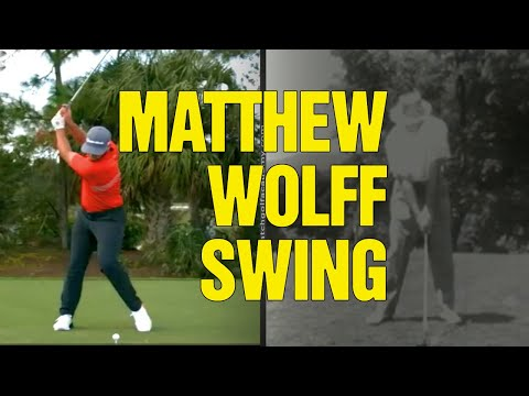 Matthew Wolff Golf Swing [WHAT CAN YOU APPLY?]
