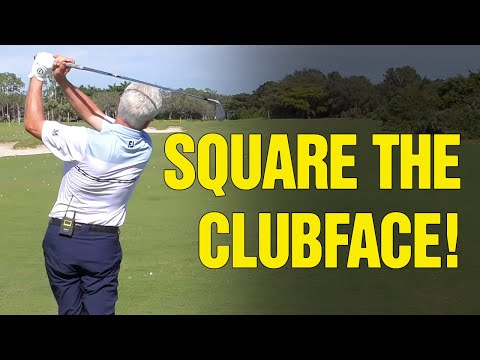 (3 KEYS) How To Square The Clubface Consistently At Impact