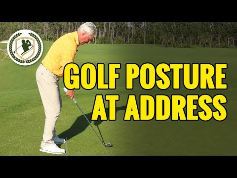 GOLF POSTURE AT ADDRESS DRILLS