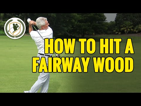 HOW TO HIT A FAIRWAY WOOD OFF THE GROUND