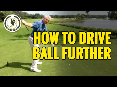 HOW TO HIT A DRIVE FURTHER – DRIVER GOLF TIPS