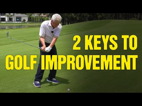 *2 Keys to Sustained Improvement  + New Golf Improvement [MOBILE APP]
