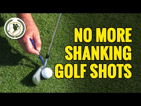 GOLF SHANK CURE – HOW TO STOP SHANKING THE GOLF BALL