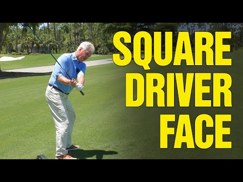 GOLF: How to Square the Club Face on a Driver (DO THIS!)