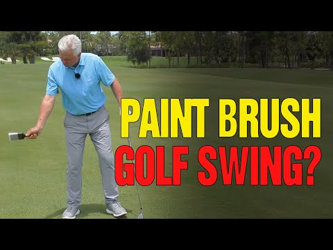 🏌️‍♂️ The Key Right Wrist Move For Solid Shots (PAINT BRUSH DRILL!)