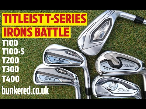 TITLEIST T-SERIES IRONS BATTLE