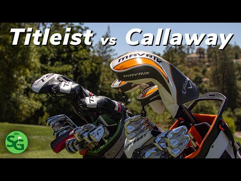 Titleist vs Callaway Full Bag Challenge | Which One is Better?