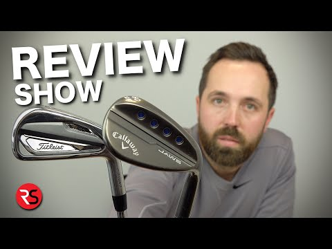 REVIEW SHOW #1: Titleist T100 irons in the bag & more……