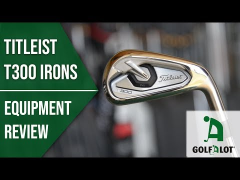 Titleist's LONGEST EVER iron? | Titleist T300 Iron Golfalot Review