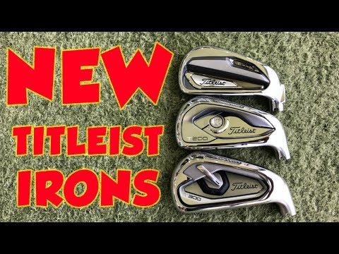 TITLEIST T100 v T200 v T300 IRON COMPARISON