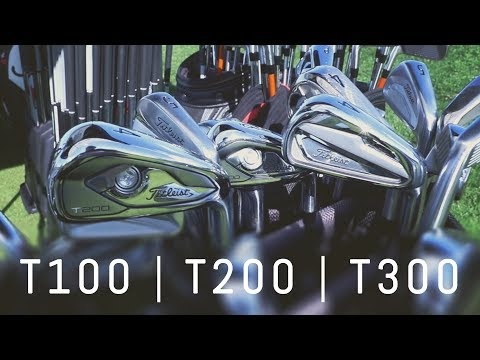 New Titleist T-Series Irons | Interview at Titleist National Fitting Centre