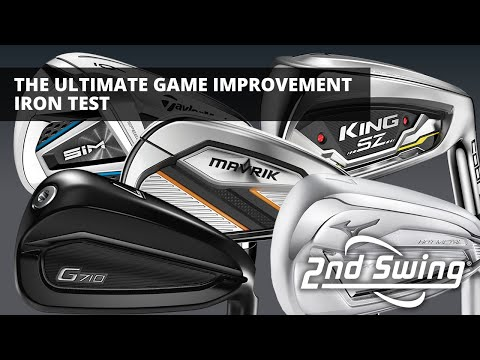 The Ultimate Game-Improvement Iron Test | Trackman testing & comparison
