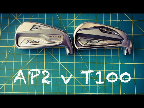 TITLEIST T100 IRONS or TITLEIST AP2 IRONs REVIEWED