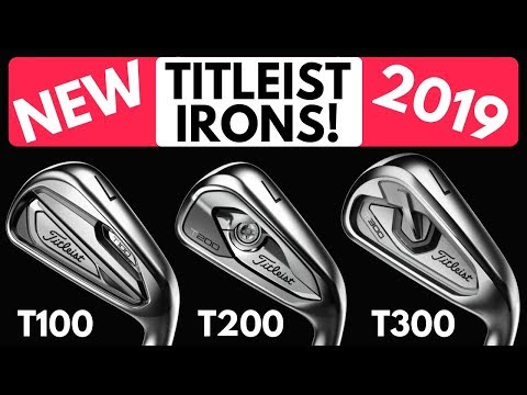New Titleist T100 v T200 v T300 Iron Comparison