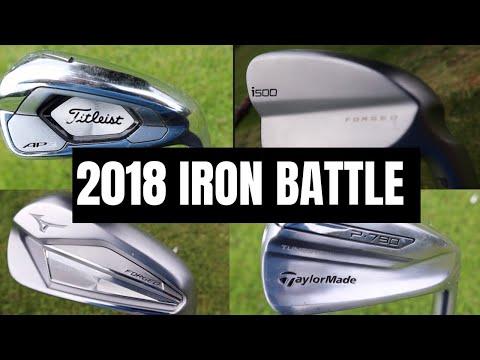 2018 IRON BATTLE! – Ping i500 vs Taylormade P790 vs Titleist AP3 vs Mizuno JPX 919 FORGED