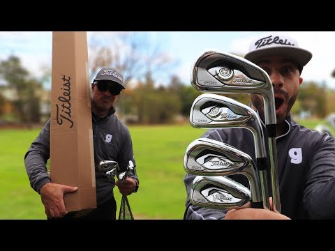 OUR BIG TITLEIST T-SERIES IRONS UNBOXING