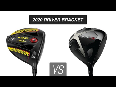 Cobra Speedzone vs. Titleist TS3 // 2020 Driver Bracket