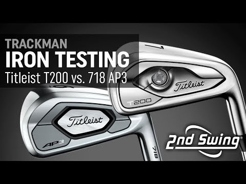 Compare Titleist T200 vs. 718 AP3 Irons | Trackman Testing & Comparison