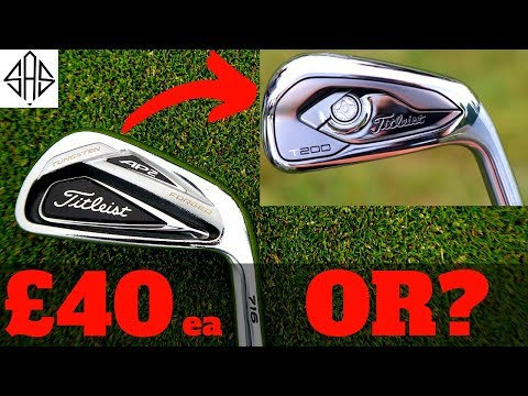 THE BEST TIME TO BUY TITLEIST AP2 IRONS!? (NEW TITLEIST T-SEIRES IRONS)