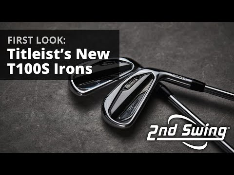 New Titleist T100S Irons | First Look | PGA Show 2020
