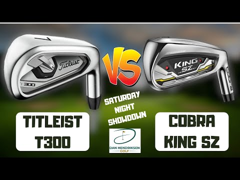 TITLEIST T300 vs COBRA KING SZ IRONS -REVIEW/SHOWDOWN