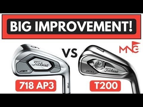 Titleist T200 Iron VS Titleist 718 AP3 Iron