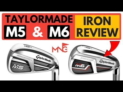 TaylorMade M5 M6 Irons Review & Comparison