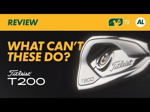 Titleist T200 Irons Review