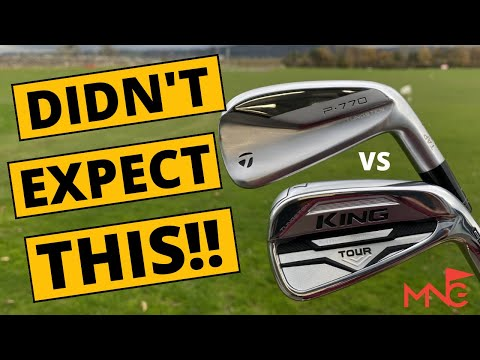 THIS SHOCKED ME! Cobra King Tour Iron v TaylorMade P770 Iron