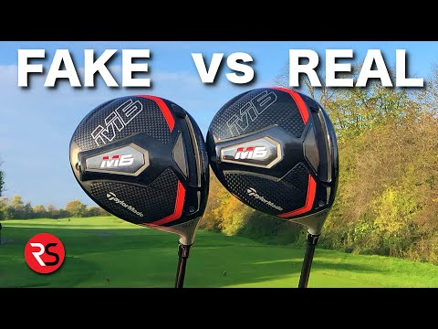 I bought a FAKE golf club from WISH……SHOCKING RESULTS