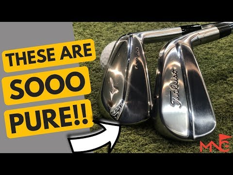 These Are So Pure! Mizuno MP-20 MB Iron VS Titleist 620 MB Iron
