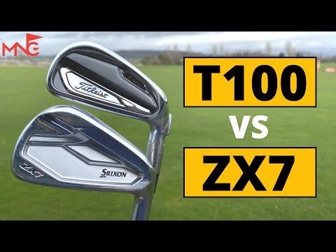 UNDERDOG VS HEAVYWEIGHT – Srixon ZX7 Iron v Titleist T100 Iron